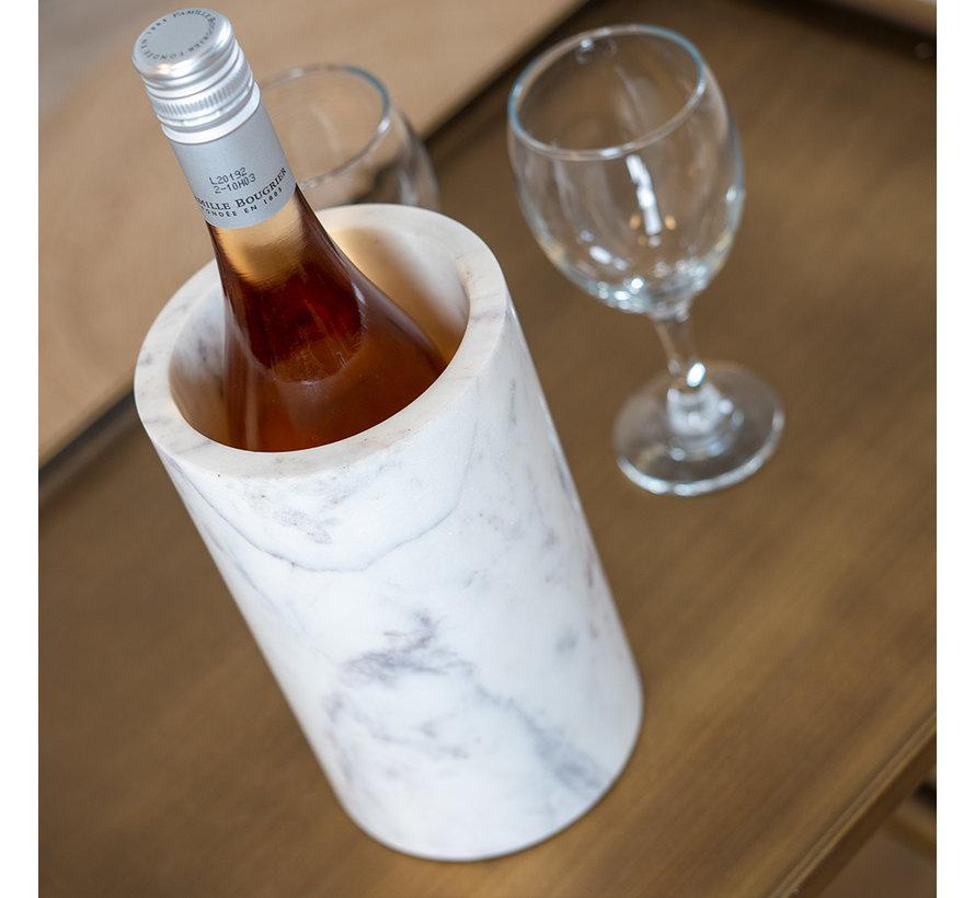 Weinkühler Bris Marmor weiß