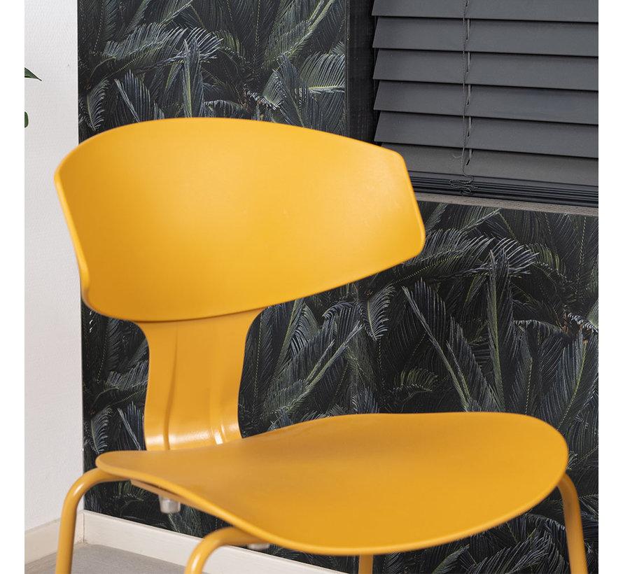 Esszimmerstuhl Mara skandinavisches Design Gelb