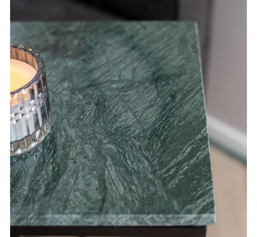 Laptoptisch Marmor Zoey grün 47 cm