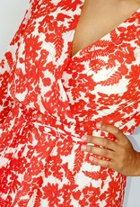Thé red summer dress