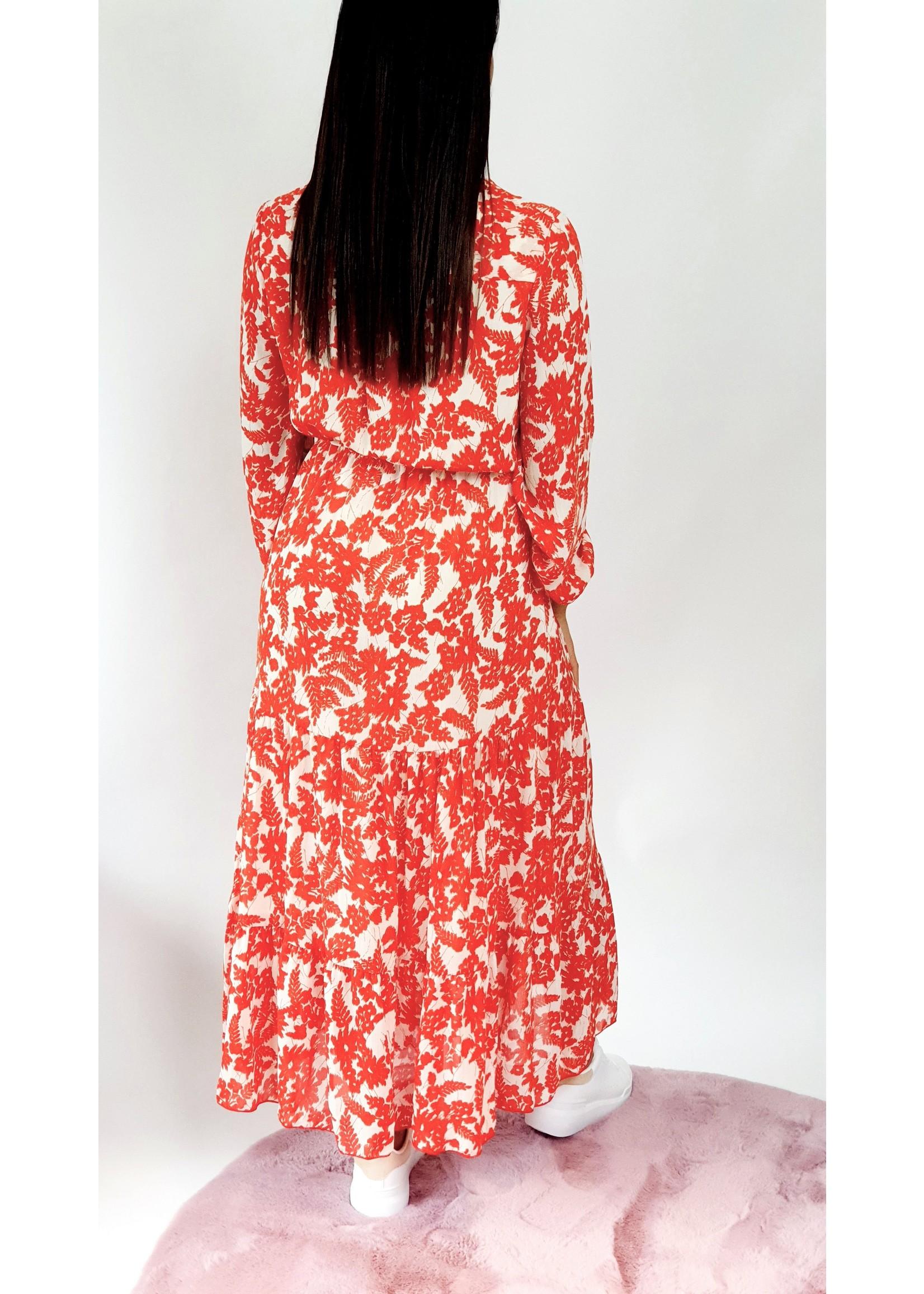 Thé red summer dress