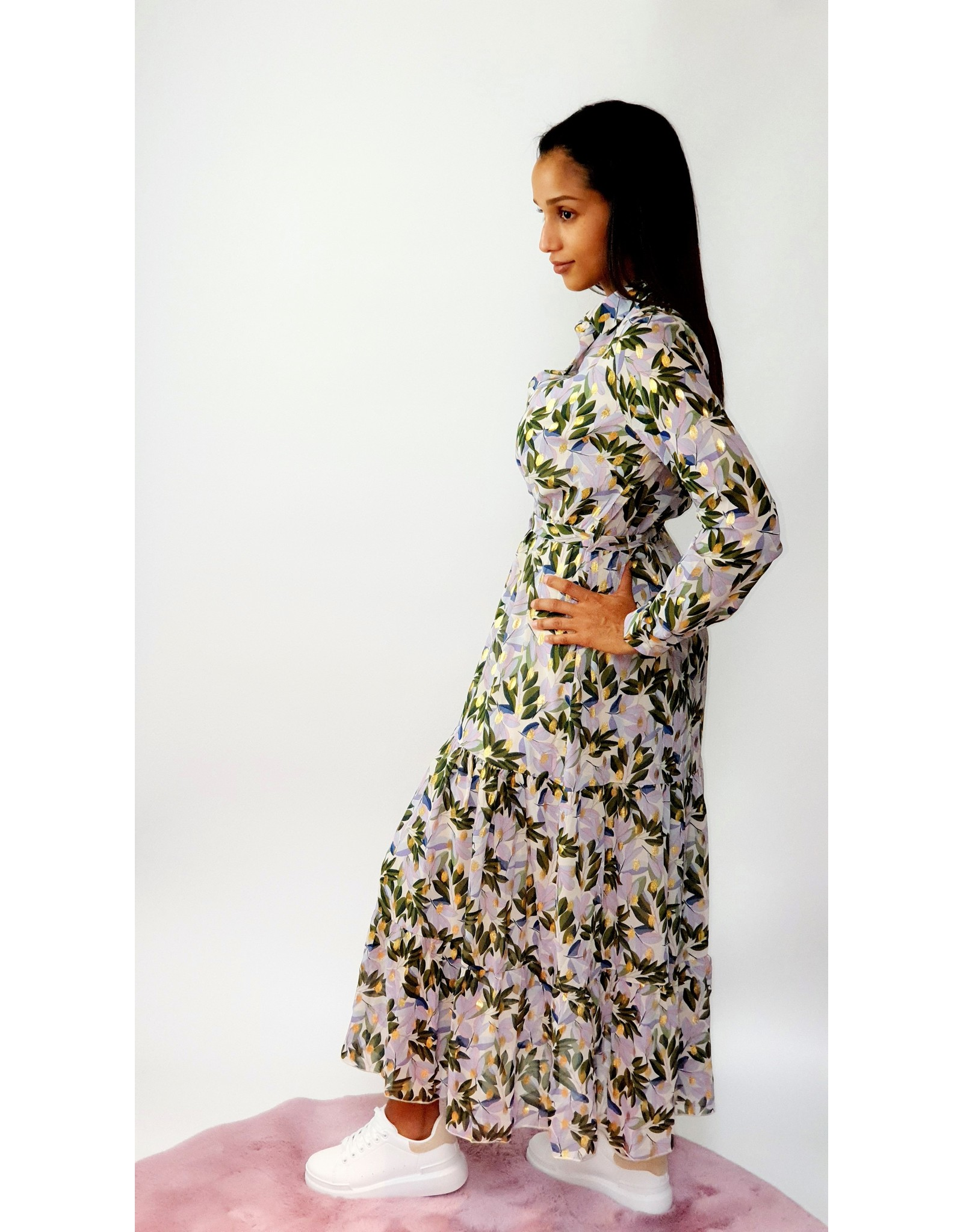 Thé lilac meets garden dress
