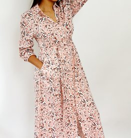 Thé pink flower dress