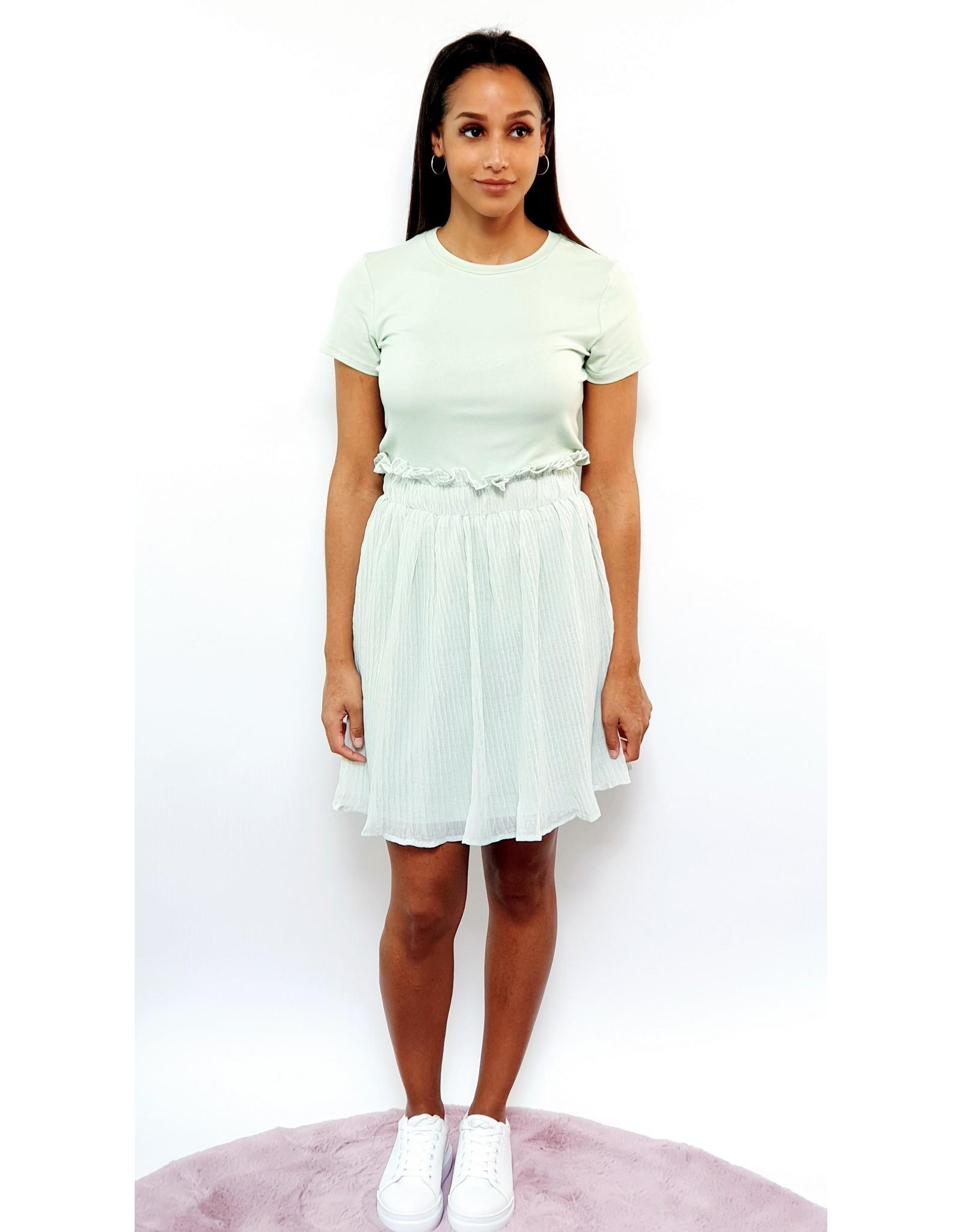 Thé mint&gold skirt