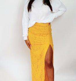 Thé beauty yellow skirt