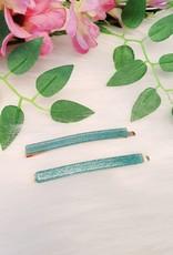 Shiny green/blue