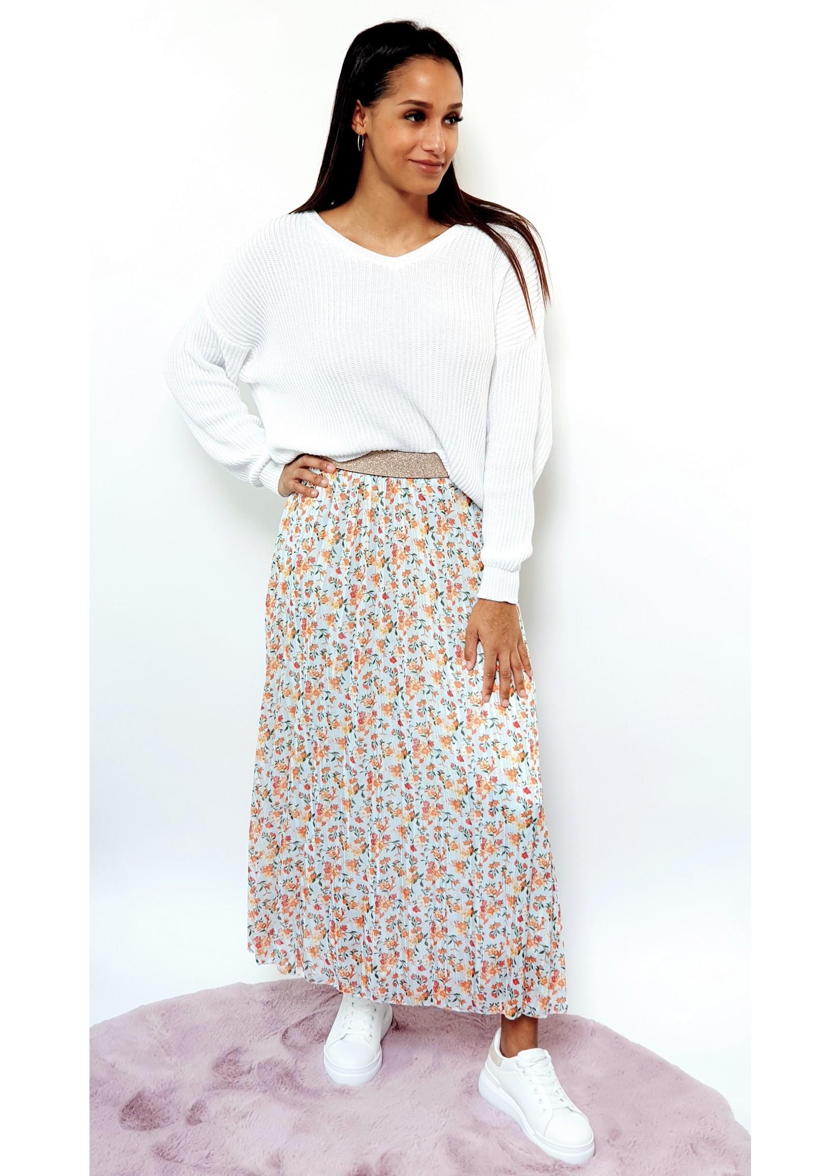 Thé flowergarden skirt