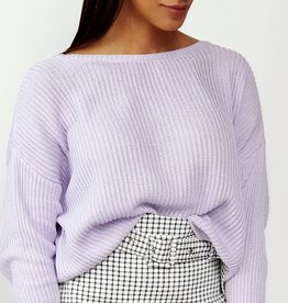 Classy lilac sweater