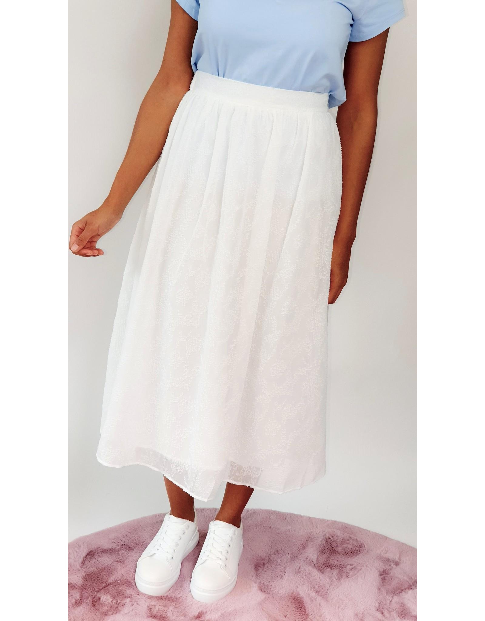Romantic casual skirt
