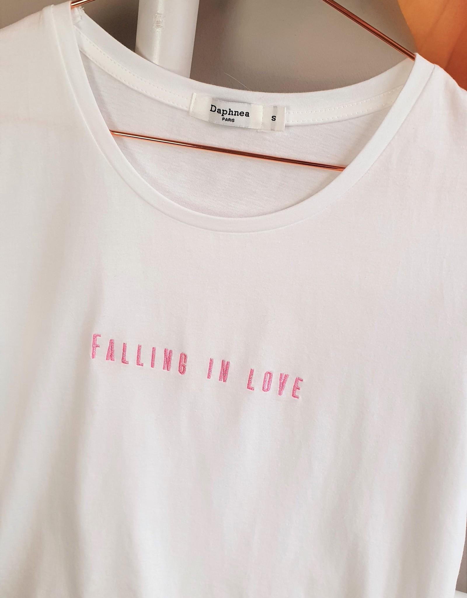 Shirt falling in love