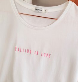 Shirt falling in love