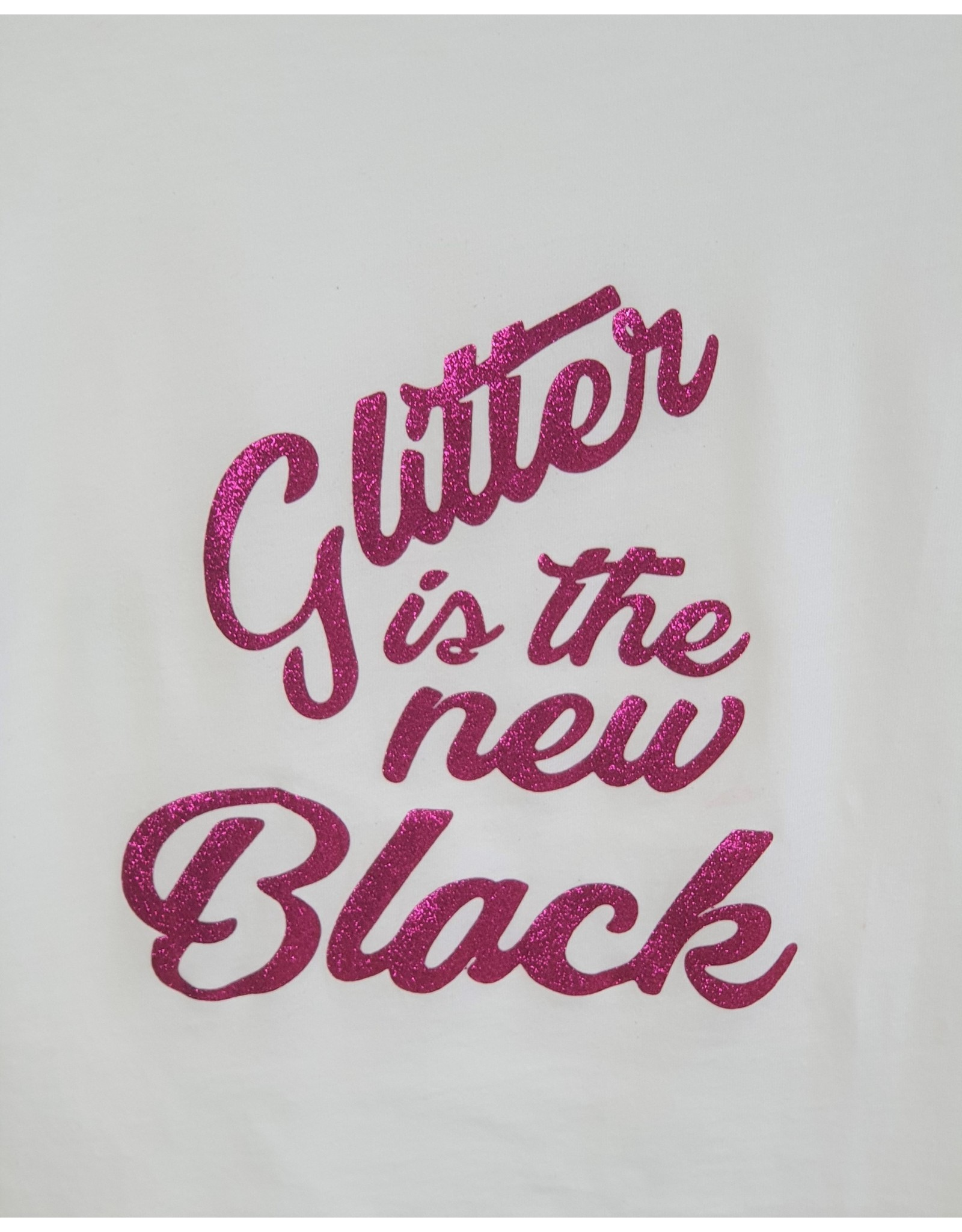 Shirt glitter is the new black