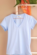 Shirt sea blue