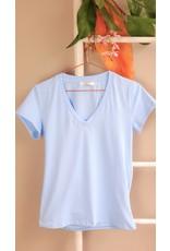 Shirt sea blue