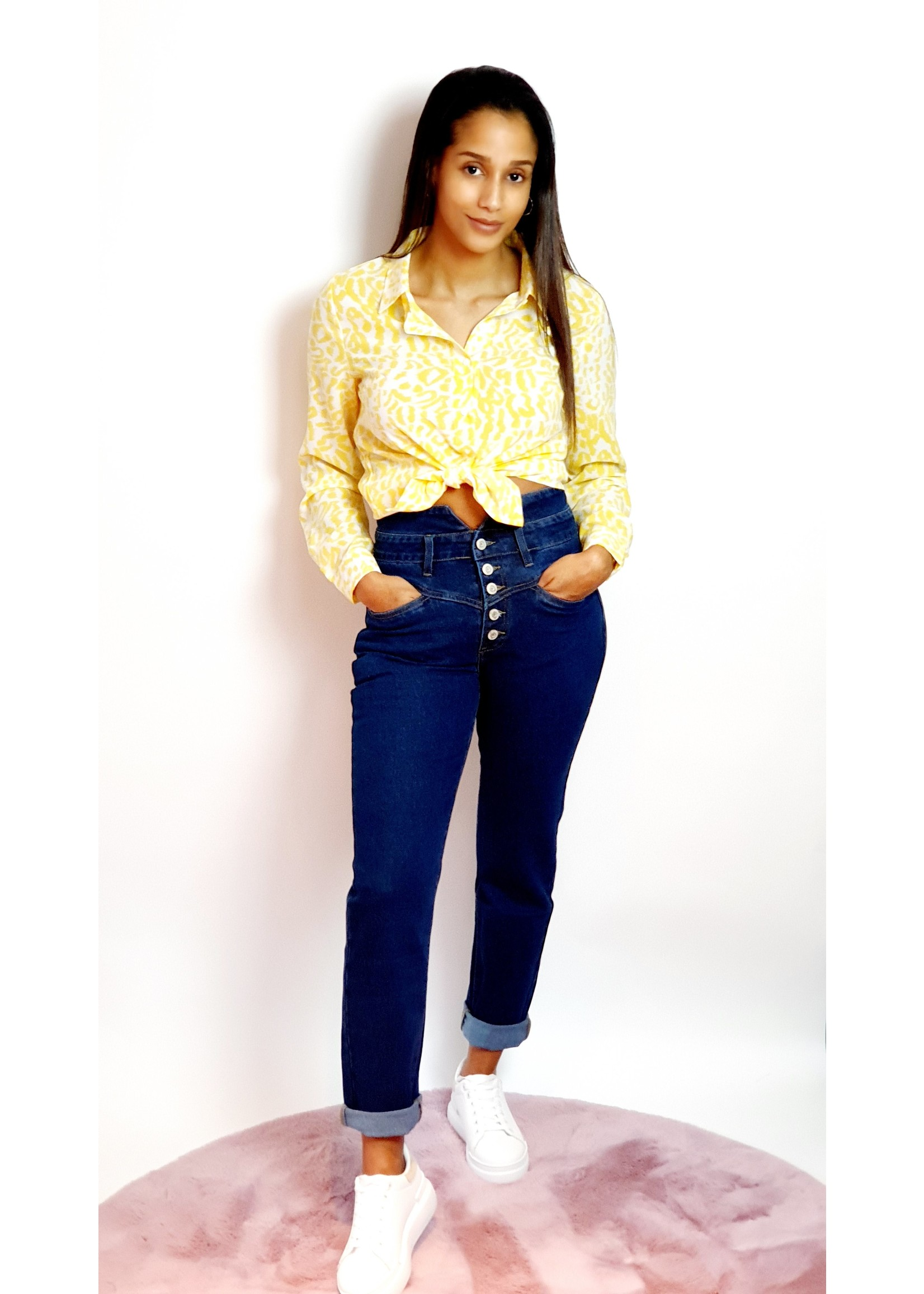 Jeans mom fit vs high waist