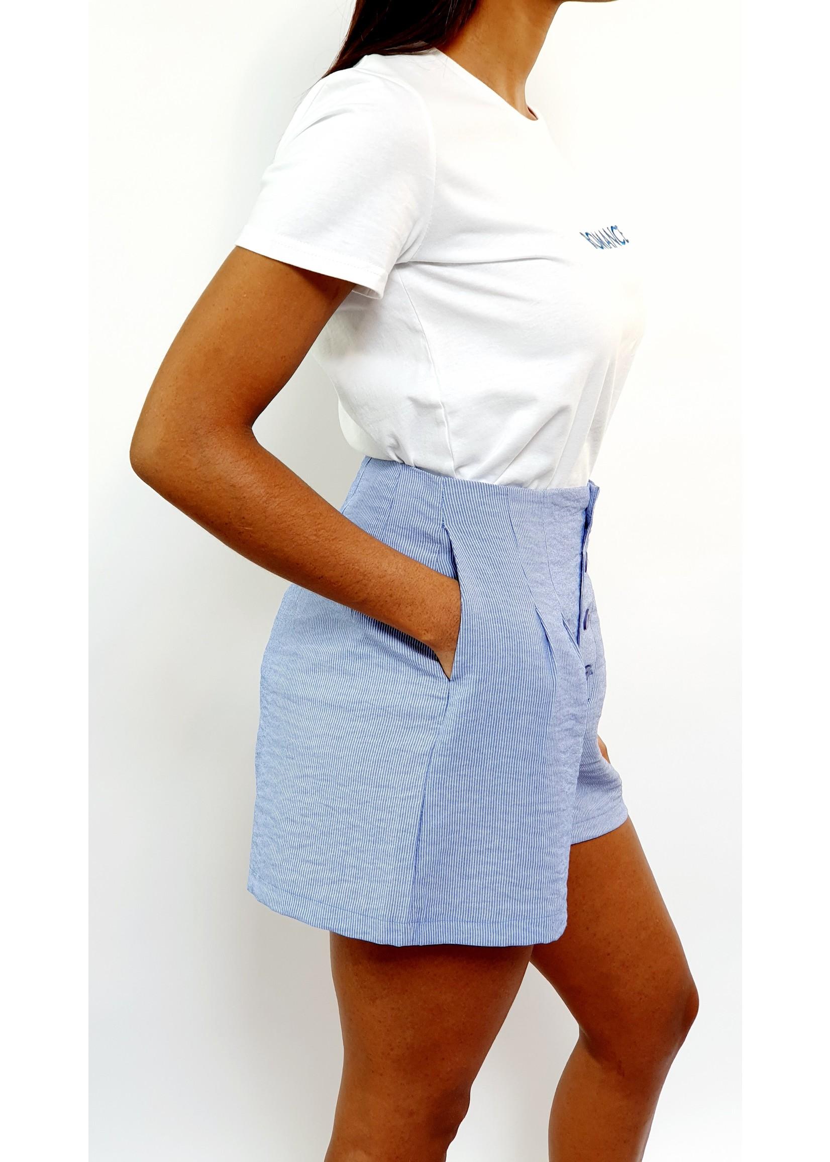 Blue marine short