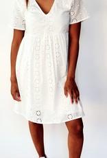 Thé romantic white dress