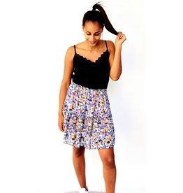 Lilac flowers skirt
