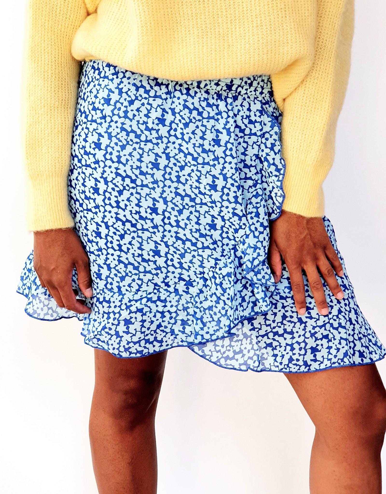Thé blue summer skirt