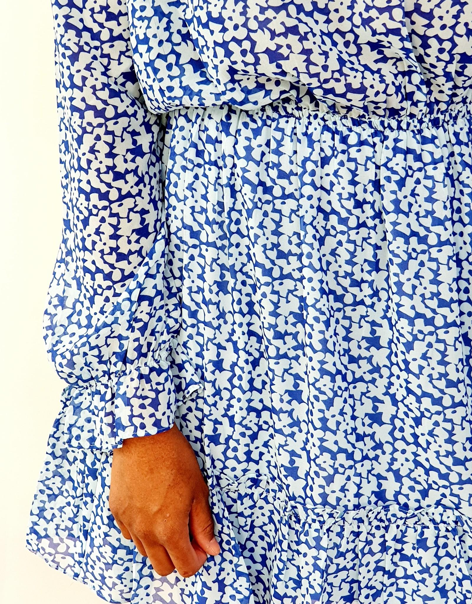 Thé blue summer dress