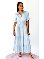 Thé soft blue dress