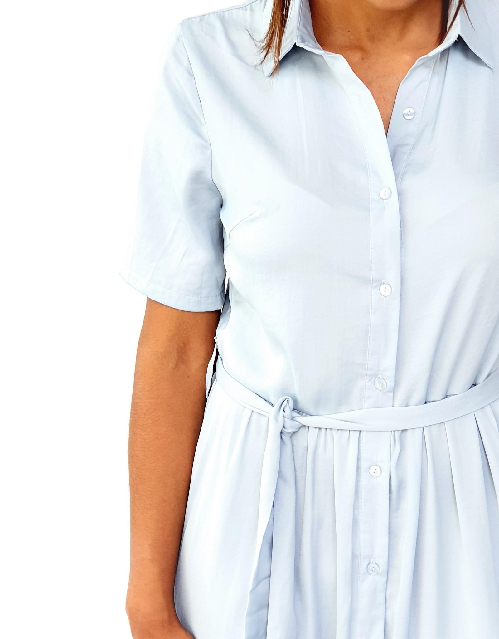 Thé soft blue dress