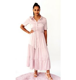 Thé soft pink dress
