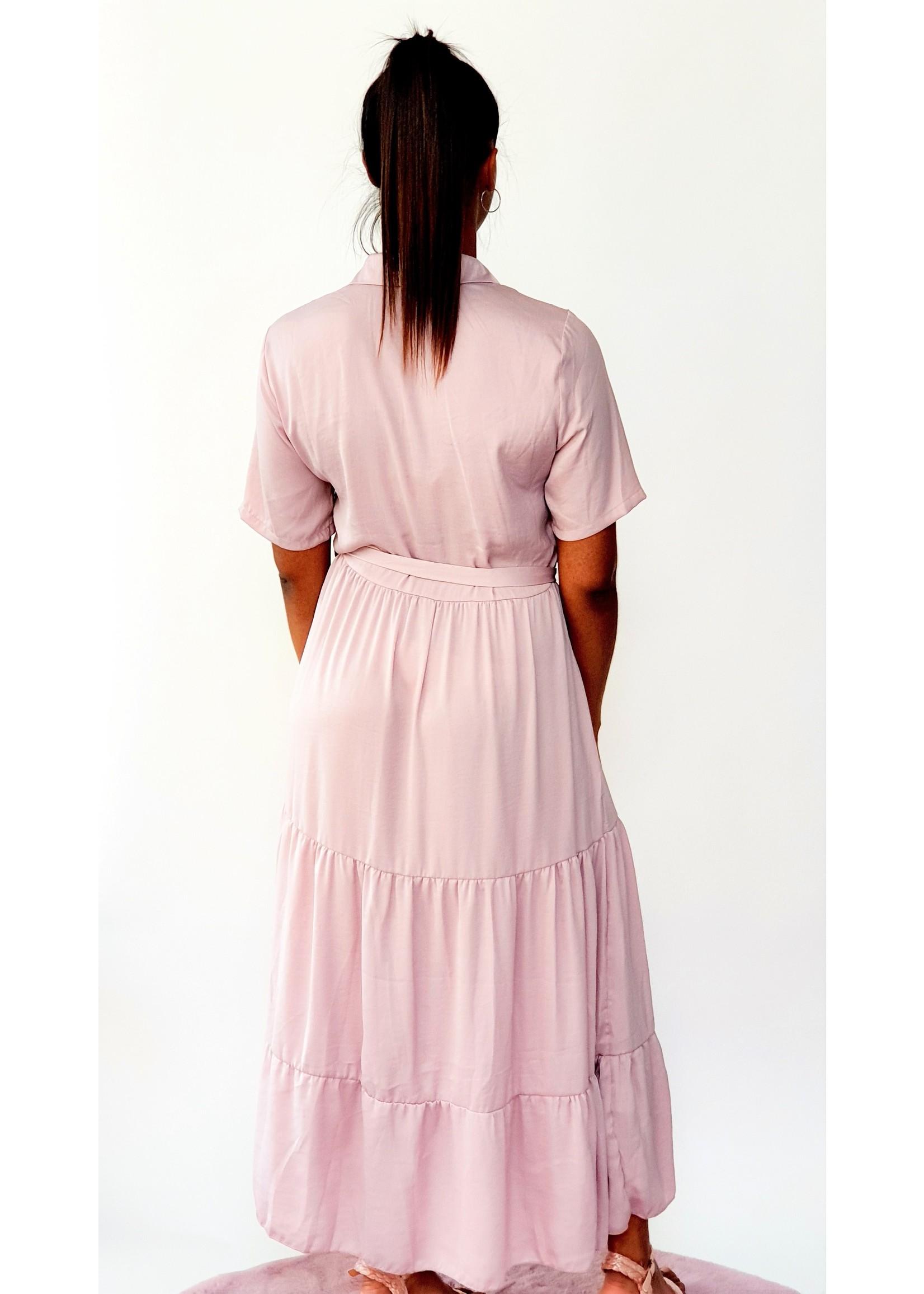 Thé soft pink dress