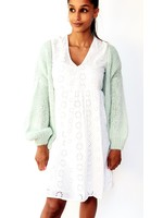 Poppy mint cardigan