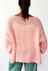 Poppy pink cardigan