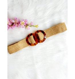 Thé dark sanded belt