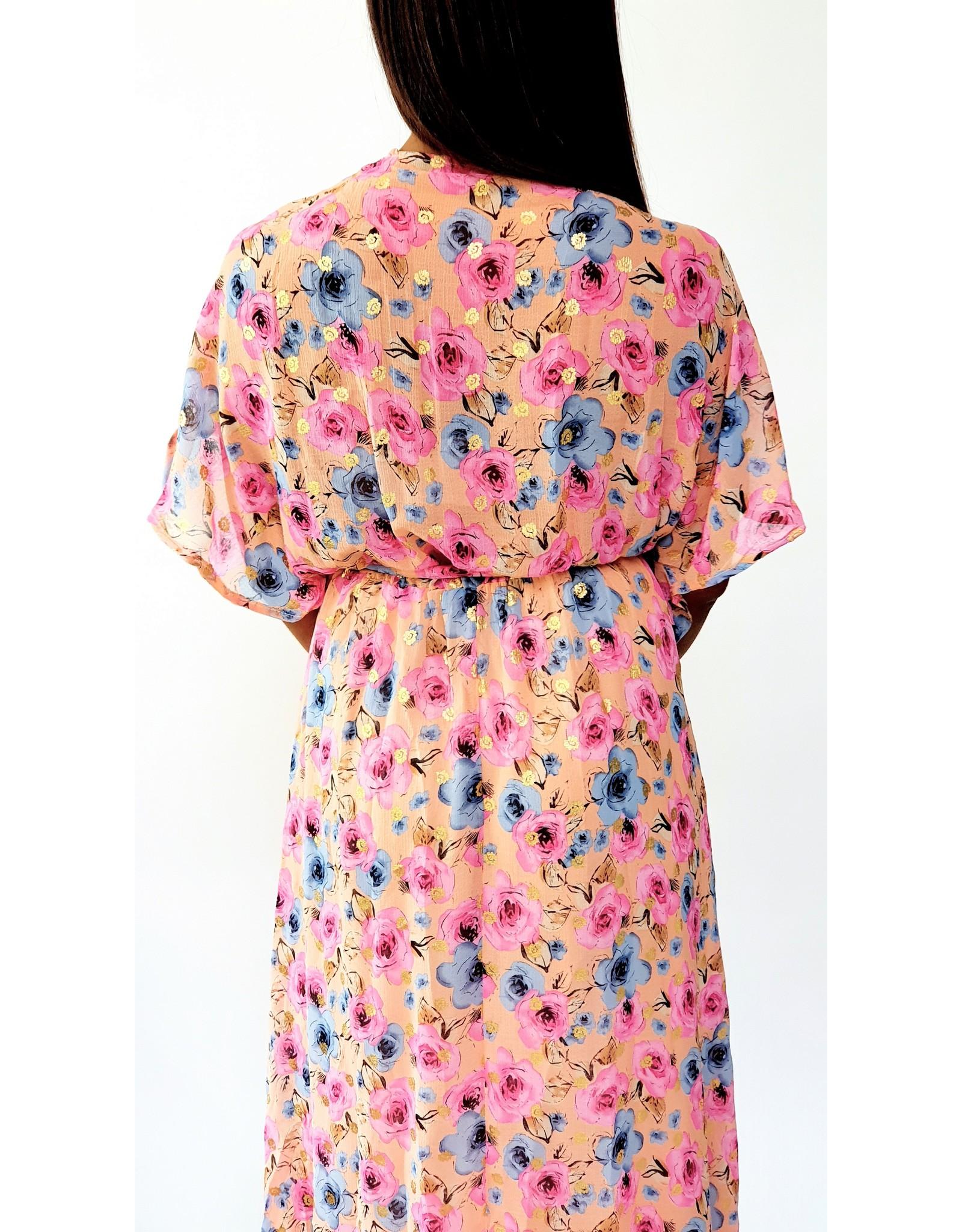 Thé hot flower dress