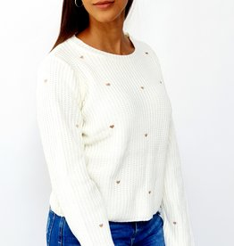Love knitted sweater