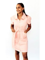 Thé pinky jeans dress