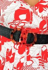 Thé black sanded belt