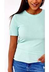 Bright mint shirt