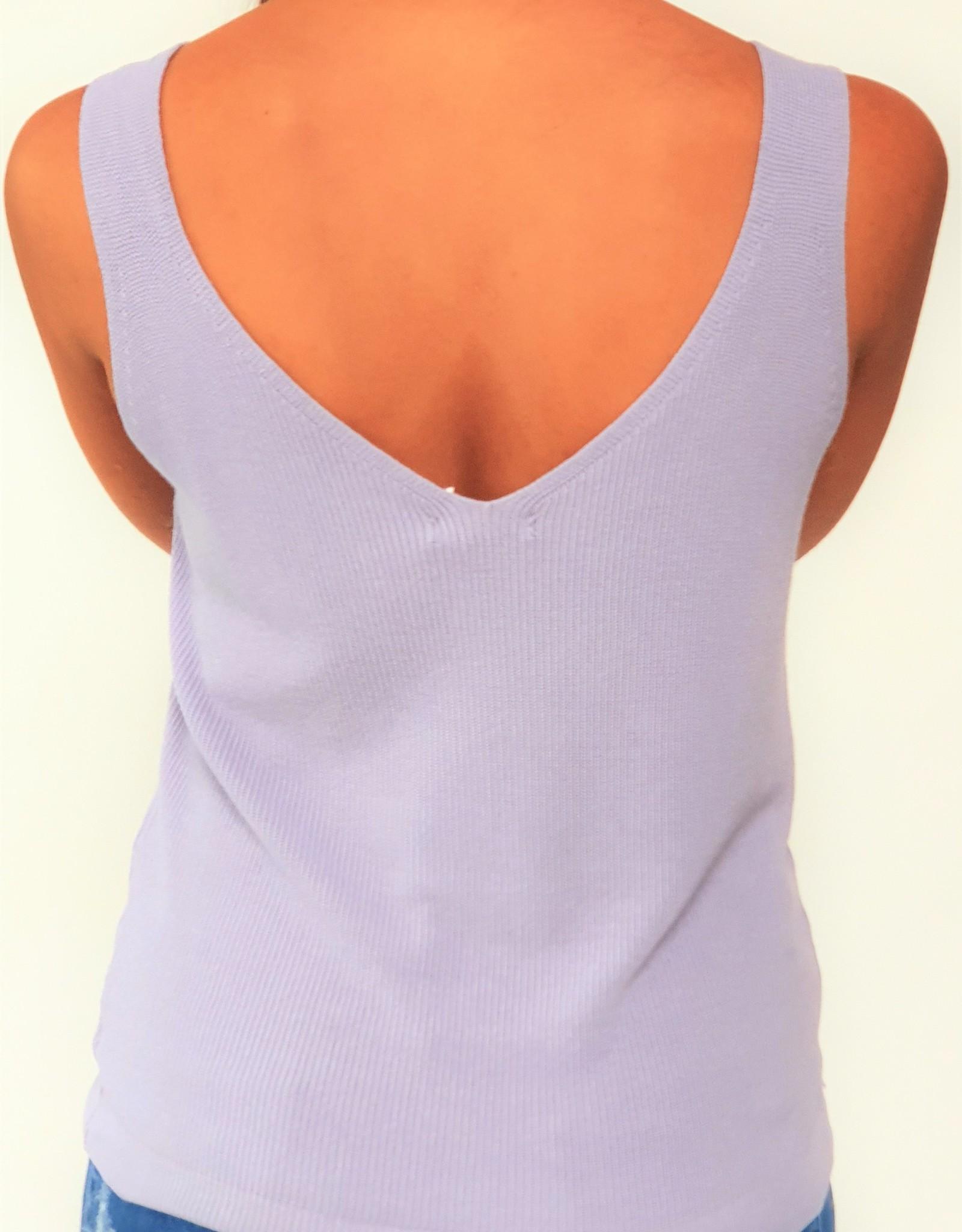 Comfy lilac top