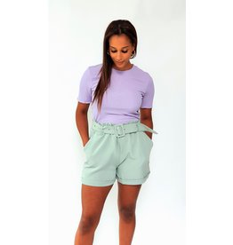 Dark mint green short