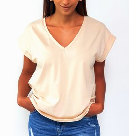 Basic cream shirt