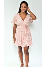 Thé gold pink dress