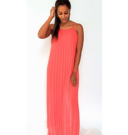 Thé happy coral red dress