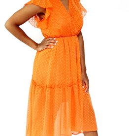 Thé orange dress