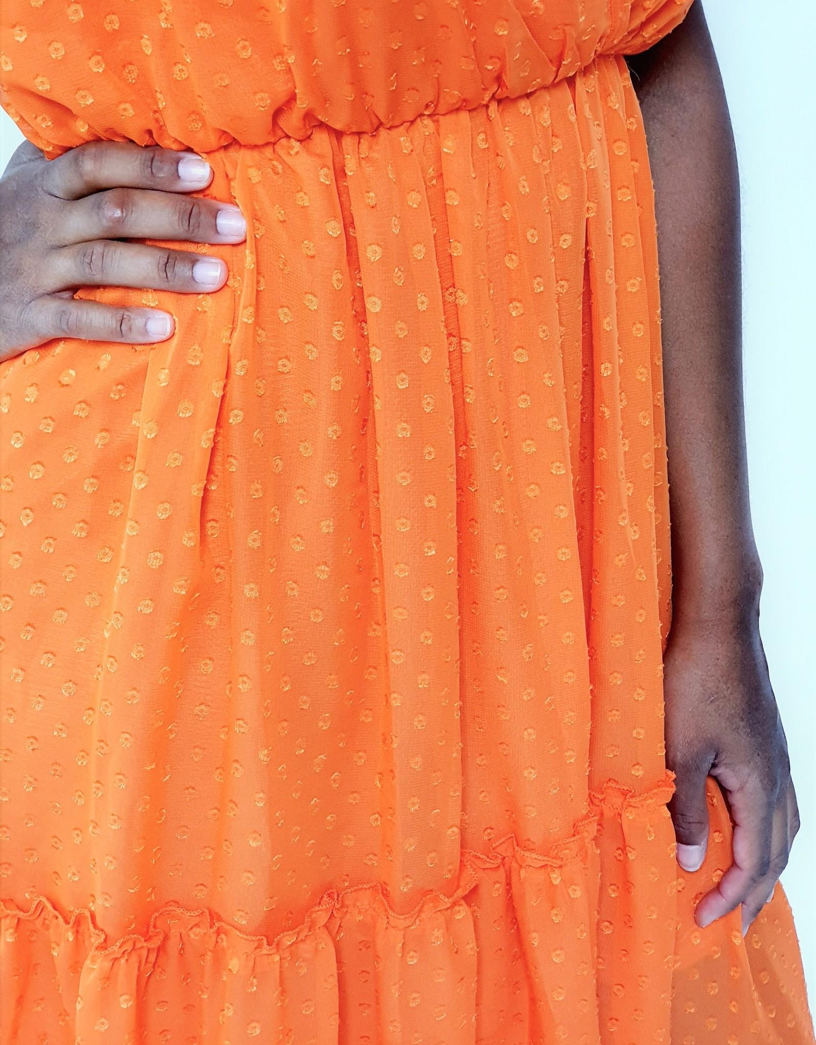 Thé orange dress
