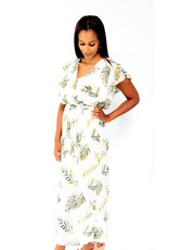Thé golden leaf dress