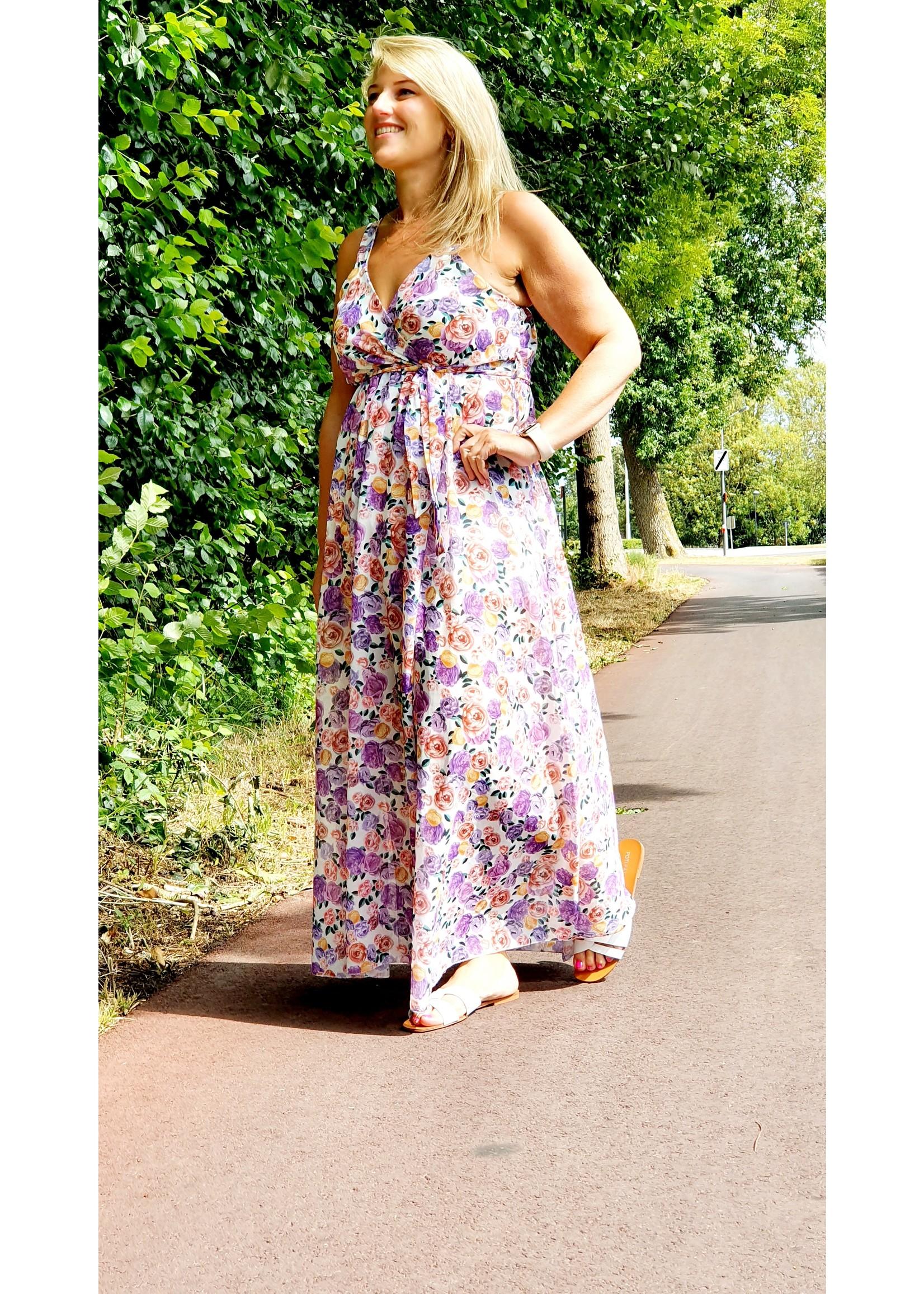 Thé feeling summer lilac dress