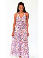 Thé feeling summer lilac dress