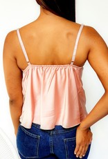 Waterfall pink top