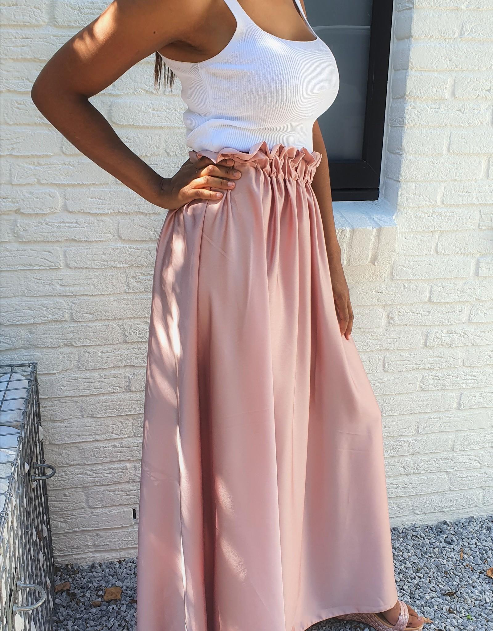Thé pink maxi skirt