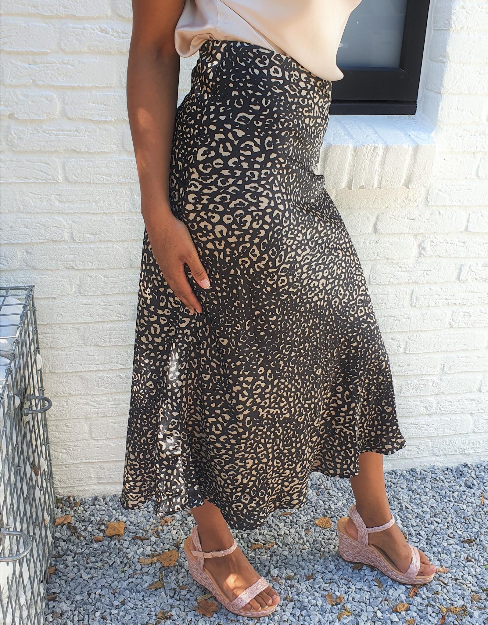 Shiny leopard