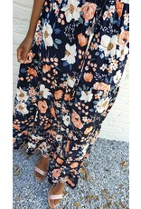 Dark flower skirt